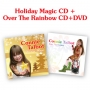 Connie Talbot -- Connie Talbot Holiday Magic (CD) + Over The Rainbow (CD+DVD) promo