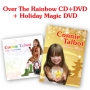 Connie Talbot -- Connie Talbot Holiday Magic (DVD) + Over The Rainbow (CD+DVD) promo