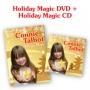 Connie Talbot -- Connie Talbot Holiday Magic CD + Holiday Magic DVD